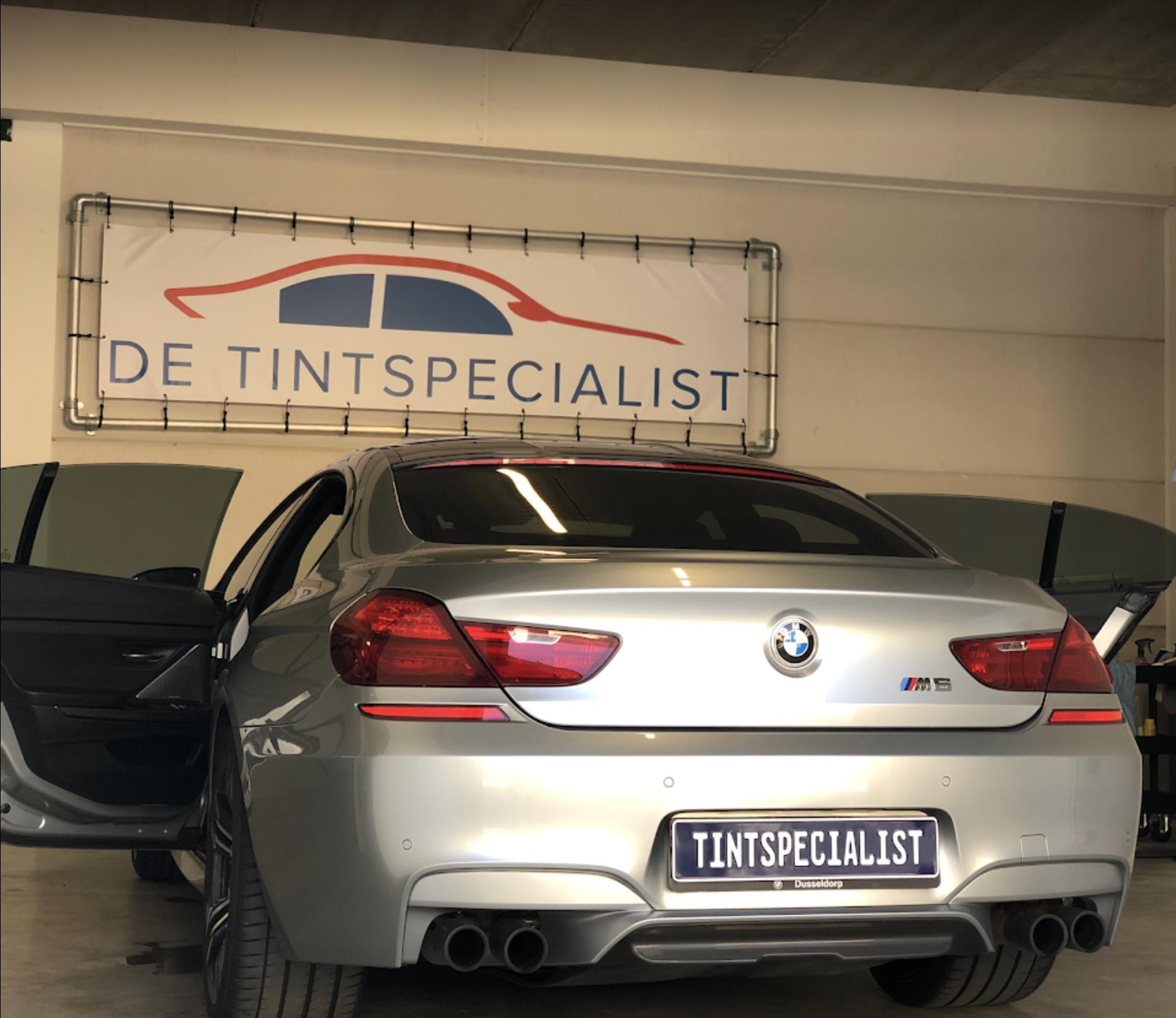 BMW M6 gran coupe ramen blinderen