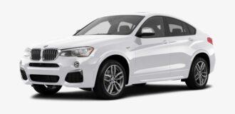BMW x4 ramen blinderen