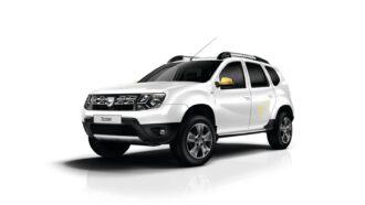 Dacia Duster ruiten blinderen