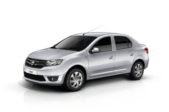 Dacia Logan sedan blinderen