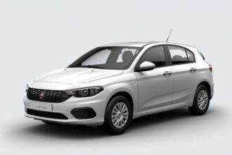 Fiat Tipo hatchback ramen blinderen