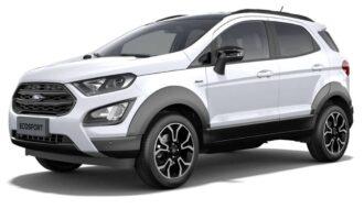 Ford Ecosport ramen blinderen
