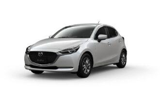 Mazda 2 ramen blinderen