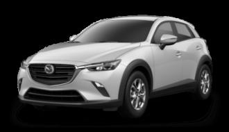 Mazda CX-3 ramen blinderen
