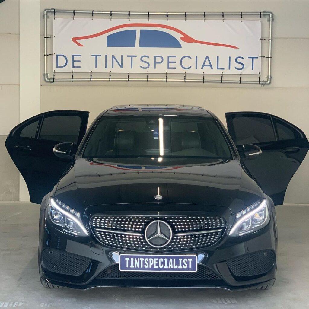 Mercedes C klasse ramen blinderen