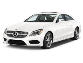 Mercedes CLS ramen blinderen