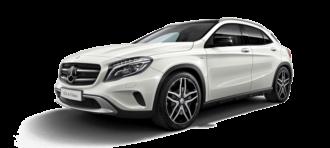 Mercedes GLA ruiten blinderen