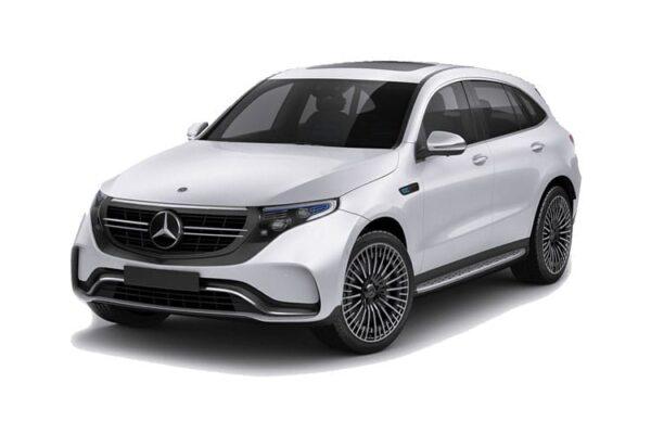 Mercedes EQC ramen blinderen