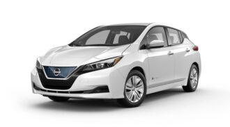 Nissan Leaf ruiten blinderen