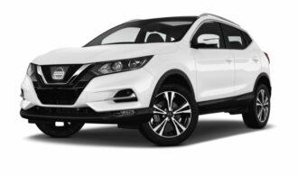 Nissan Qashqai ruiten blinderen