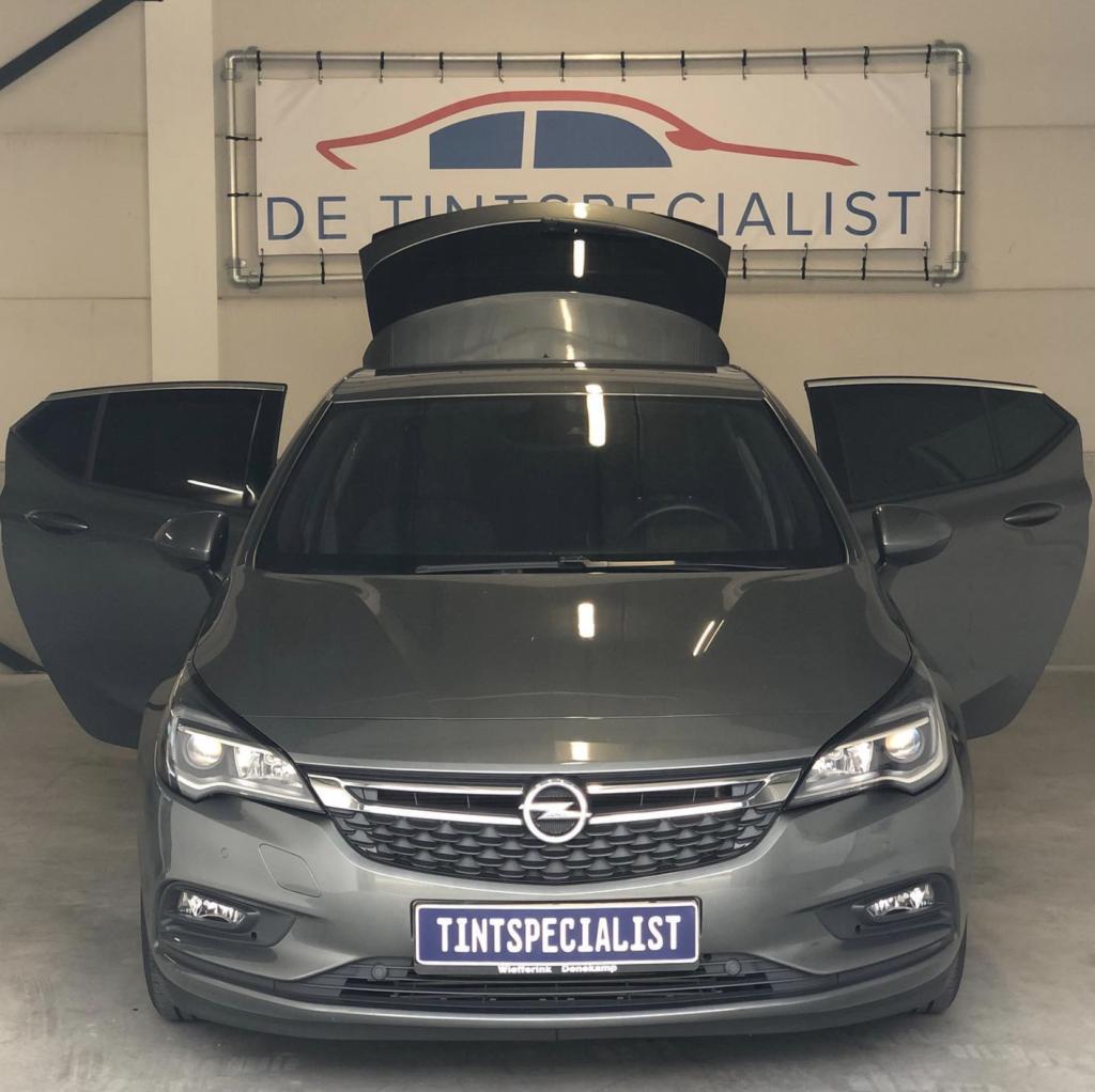 Opel astra tinten vanaf b stijl