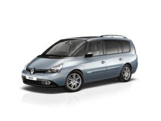 Renault Espace blinderen