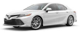 Toyota Camry ruiten blinderen