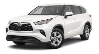 Toyota Highlander ramen blinderen