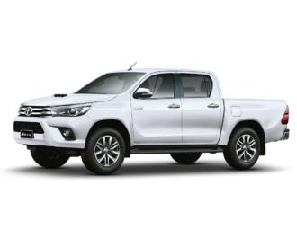 Toyota Hilux ramen blinderen