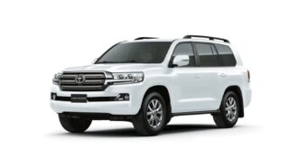 Toyota Land Cruiser ramen blinderen