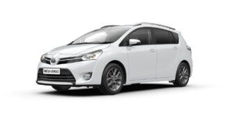 Toyota Verso ramen blinderen