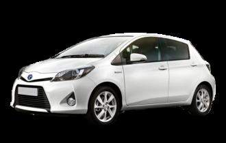 Toyota Yaris blinderen