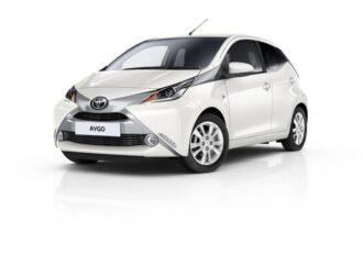 Toyota aygo 5 deurs ramen blinderen