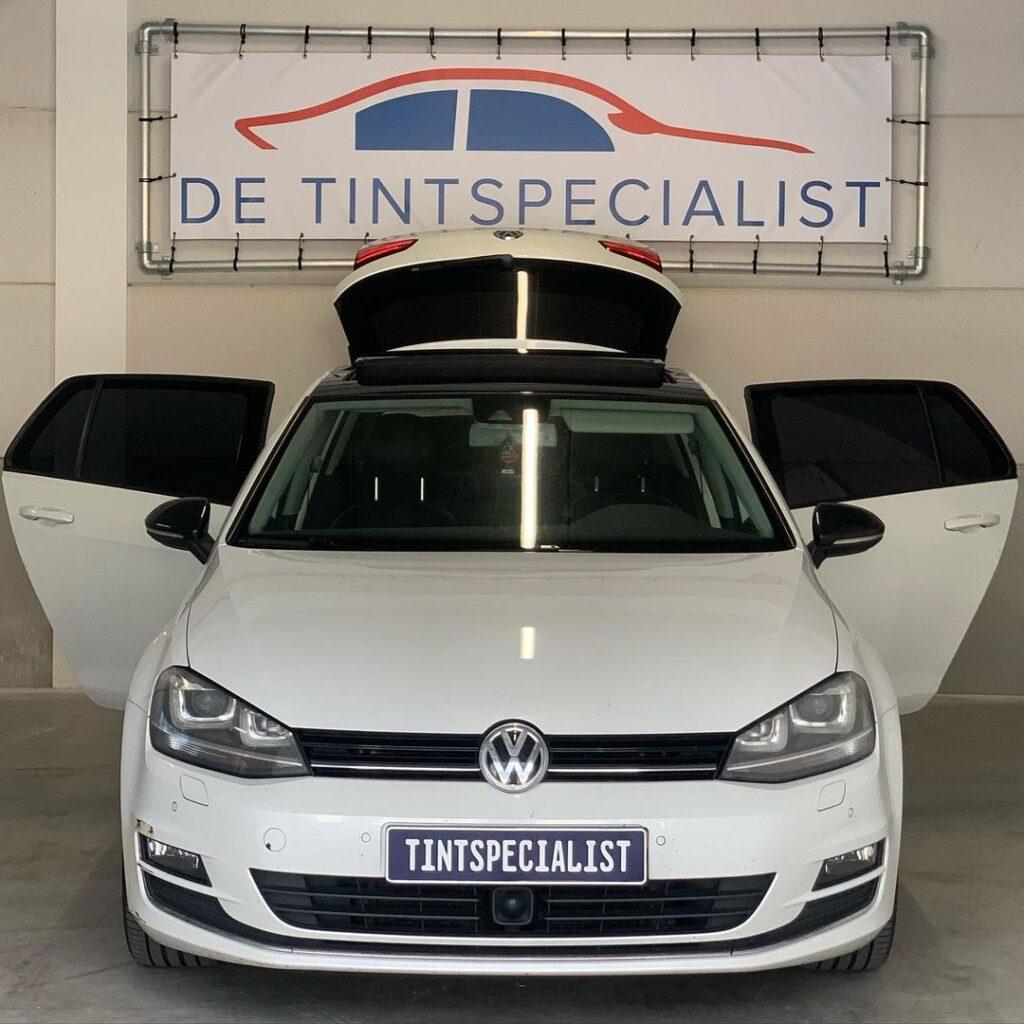 Volkswagen Golf 7 ramen blinderen