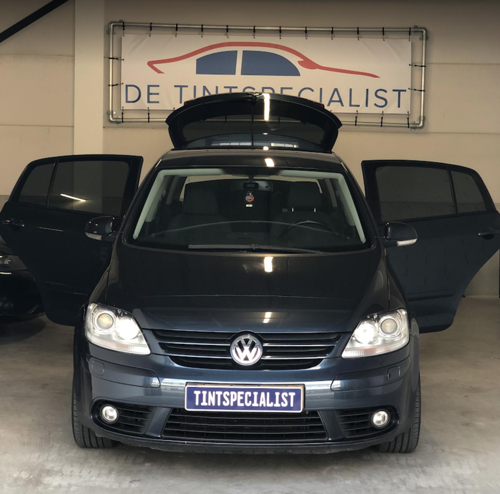 Volkswagen golf plus ruiten tinten